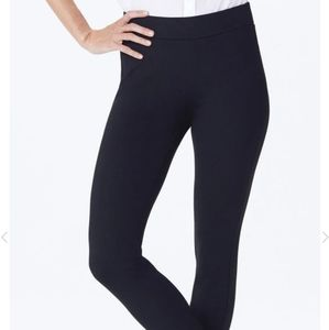 NYDJ Black Basic Pointe Knit Leggings sz 4